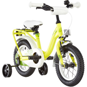 s'cool niXe 12 Acier Enfant, yellow/green